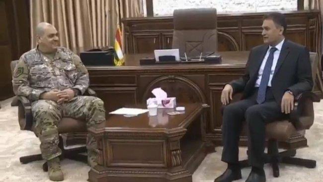 Macaristan Genelkurmay Başkanı Kürdistan'da