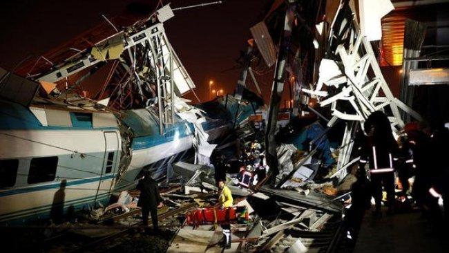 Ankara'da tren kazası: 4 ölü, 43 yaralı!