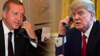 Erdoğan,Trump'la görüştü