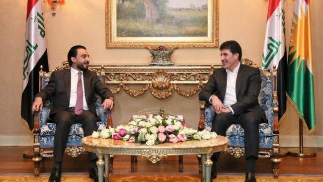 Başbakan, Irak Parlamento Başkanını kabul etti