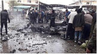 Efrin'de şiddetli patlama: Ölü ve yaralılar var