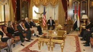 Başkan Barzani McGurk'la Rojava'yı görüştü