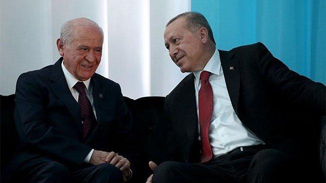 Erdoğan ve Bahçeli'den ortak miting