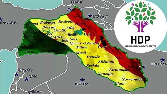 HDP'li Vekil: Kürdistan, Kürt illeri, Kürt Coğrafyası'nın bilimsel boyutu ortaya çıkarılsın