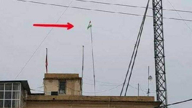 Iraklı güçlerden Kerkük'te Kürdistan bayrağına saygısızlık