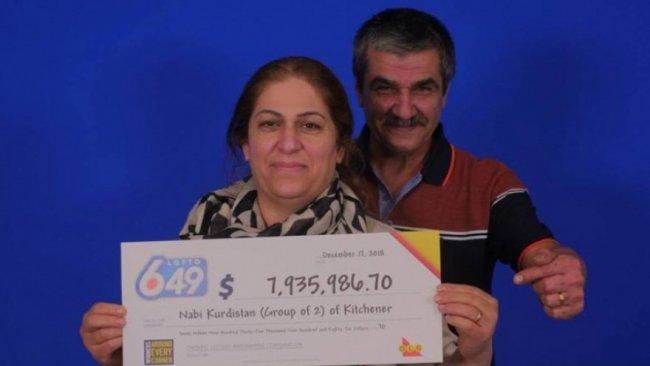 Kürt aile lotodan 8 milyon dolar kazandı