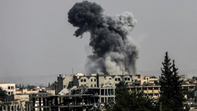 ABD hava saldırıları destekli DSG güçleri Deyrezzor'da ilerlemeyi sürdürüyor