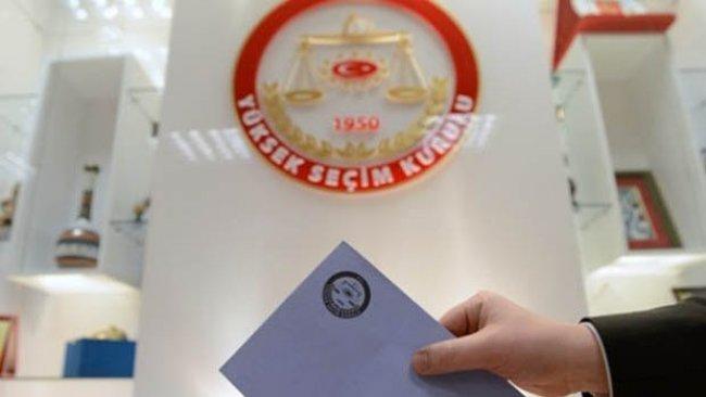 Kürt illerinde oy kullanma saatleri değişti