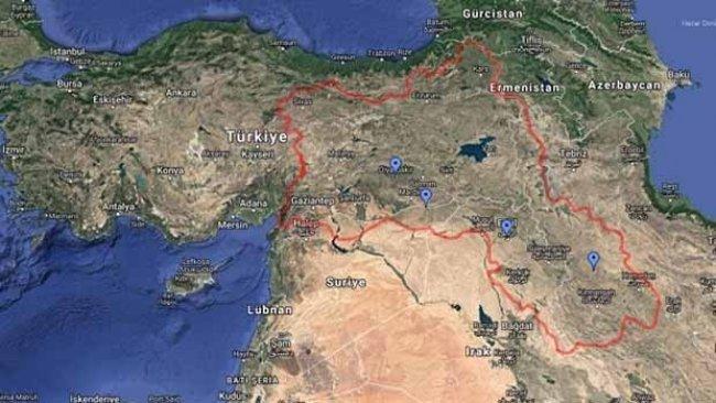 Türkiye'den Google'a Kürdistan başvurusu
