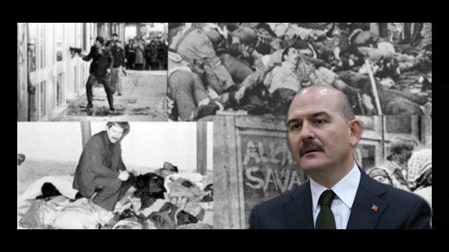 İçişleri Bakanı Soylu: Çorum ve Maraş katliamları birer tiyatroydu
