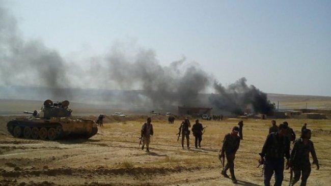 Deyrezzor'da DSG ile IŞİD arasındaki şiddetli çatışmalar yeni yılda da devam etti