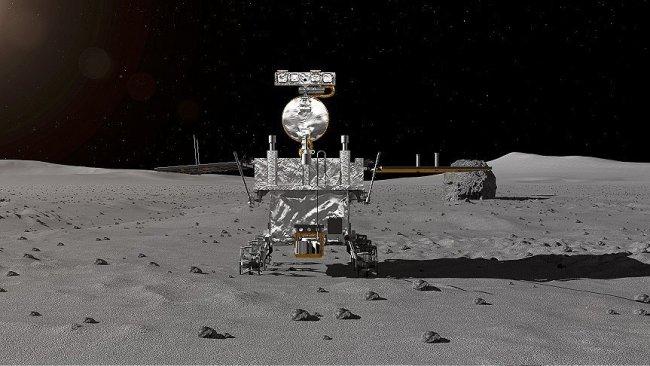 Çin uzay aracı, Ay'ın karanlık yüzüne iniş yaptı