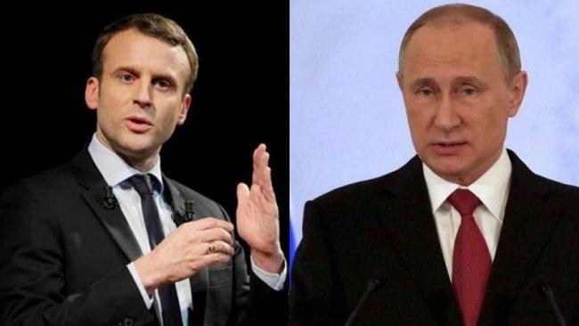 Macron'dan Putin'e: Kürtleri, Rojava'da koruyun!