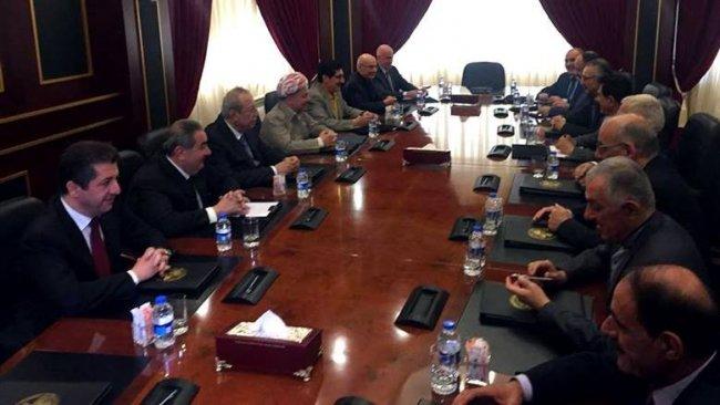Başkan Barzani liderliğinde KDP - YNK toplantısı