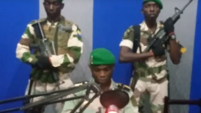 Gabon'da askeri darbe