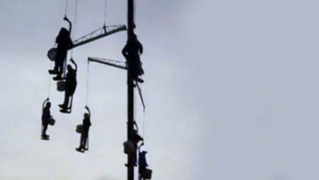 İran'da Bando Ekibinin İdam Protestosu