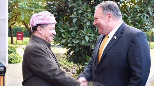 Başkan Mesud Barzani, Mike Pompeo ile biraraya geldi