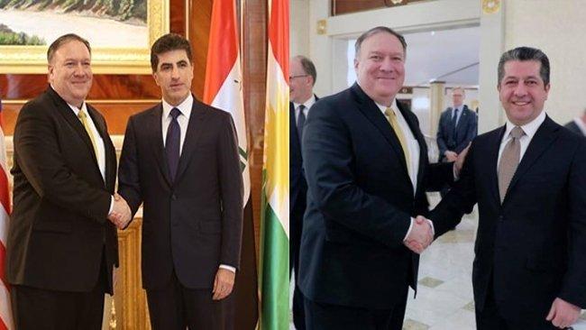 ABD'den Neçirvan ve Mesrur Barzani'ye kutlama