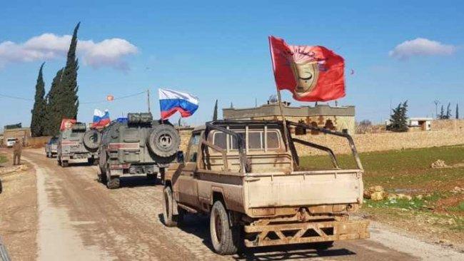 ABD'nin ardından Ruslar da YPG ile Menbic devriyesinde