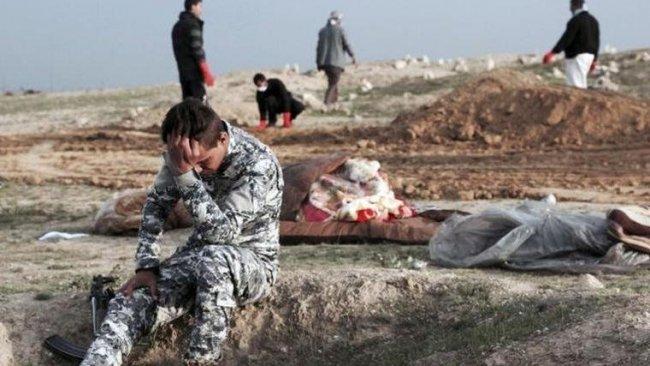 Musulda bir toplu mezar daha... Cesetlerin 38'i de kadın!