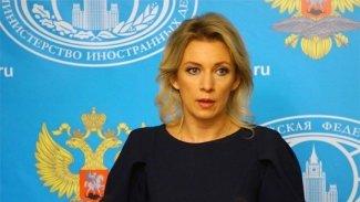 Zaharova: Şam ile Kürtler arasında diyalog özel önem taşıyor