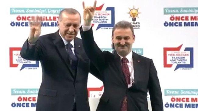 Erdoğan'dan izin istedi: Bozkurt yapabilir miyim?