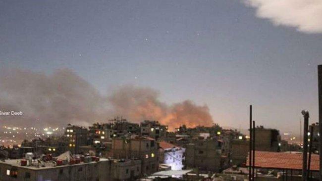 İsrail, Suriye'deki İran hedeflerini vurdu