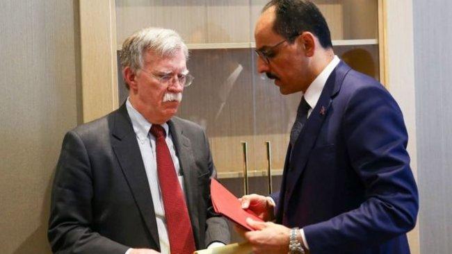 John Bolton: Ankara'ya Erdoğan'ın daveti üzerine gittim
