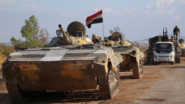Suriye ordusundan Menbic'e askeri yığınak!