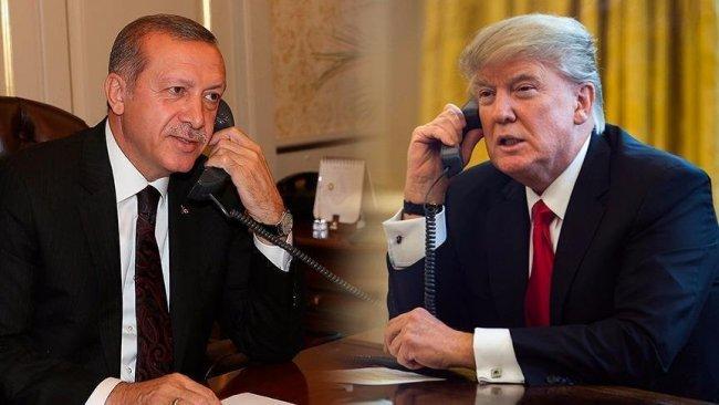 Beyaz Saray, Trump-Erdoğan görüşmesinin ana hatlarını paylaştı