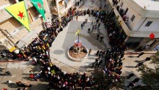 Rojava, Kürtler ve ABD