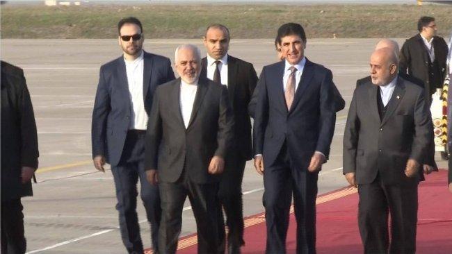 İran Dışişleri Bakanı Kürdistan'da