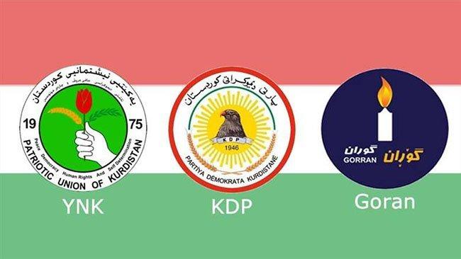 Kürdistan'da partiler anlaştı.. İşte yeni Hükümetin isimleri