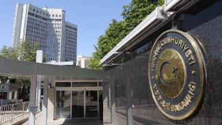 Türkiye Dışişleri Bakanlığı'ndan Menbic açıklaması