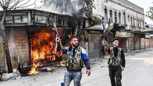 ÖSO Kürt mezarlarını tahrip ediyor
