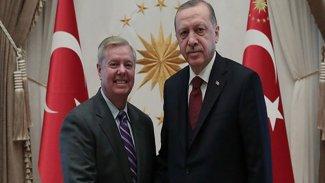 Erdoğan ABD'li senatör Graham ile görüştü