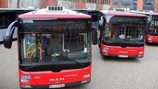 Düsseldorf'tan Erbil'e 400 otobüs