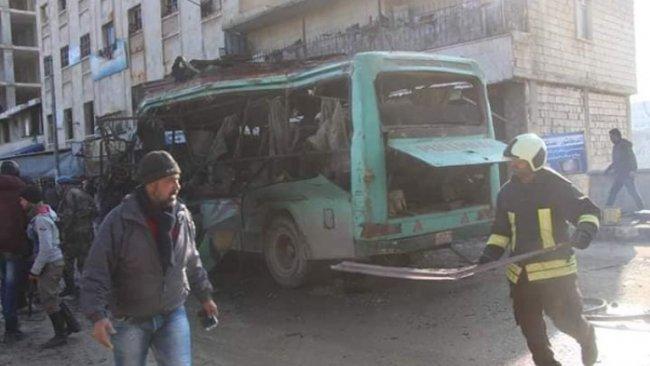 Efrin'de iki ayrı patlama!