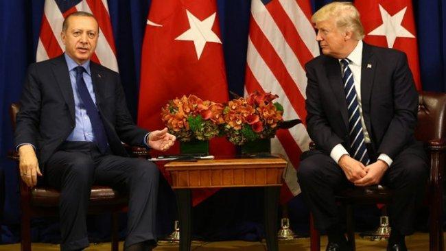 Beyaz Saray: Trump, Erdoğan'la Suriye'yi görüştü