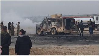 Haseke'de ABD ve YPG konvoyuna intihar saldırısı