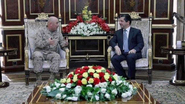 Mesrur Barzani: Peşmerge'ye destek, terörü engeller