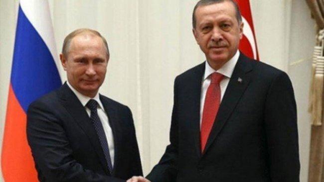 Erdoğan ve Putin görüşmesi gerçekleşti