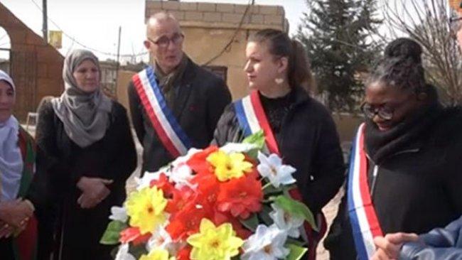 Fransız parlamenter heyeti Rojava'da