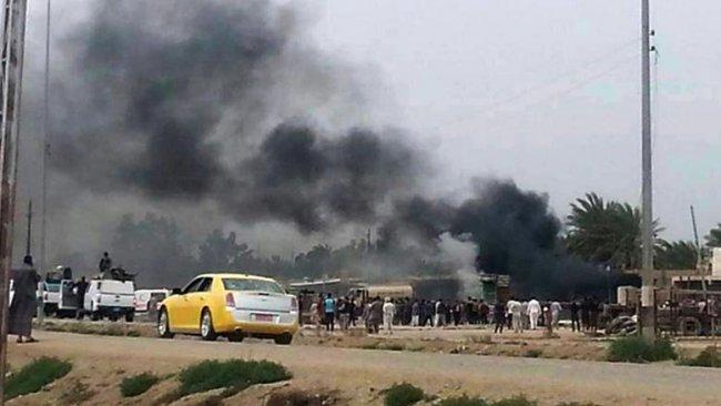 Kerkük'te yönetim binasına intihar saldırısı
