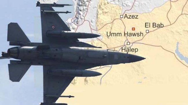 TSK'dan YPG mevzilerine bombardıman
