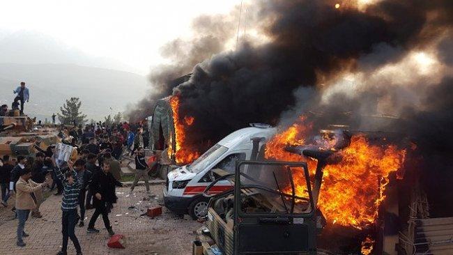 Ankara: Türk üssüne saldıranlar sivillerin arasına gizlenmişti