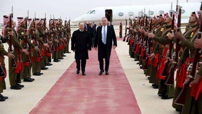 Başkan Barzani, Kral Abdullah'ın resmi davetlisi olarak Ürdün'de