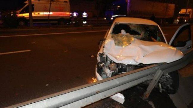 Diyarbakır'da trafik kazası: 3'ü ağır 5 yaralı