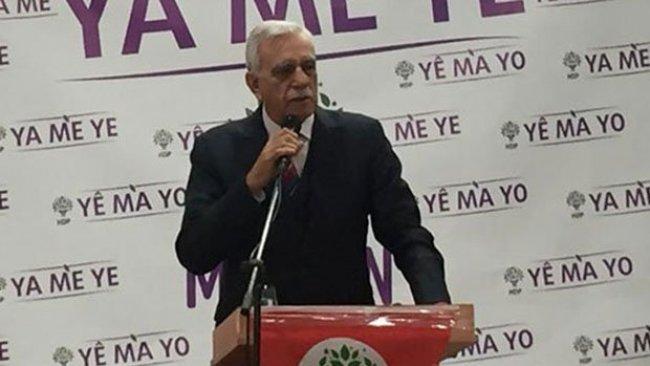 Ahmet Türk: Mardin Kayyumu yalan söylüyor