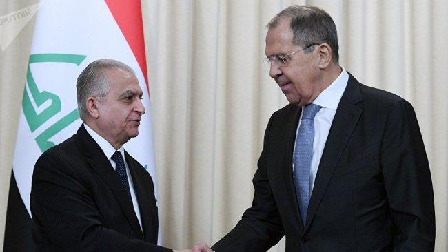 Lavrov: ABD'nin Irak'ta jeopolitik hedefleri olmamalı